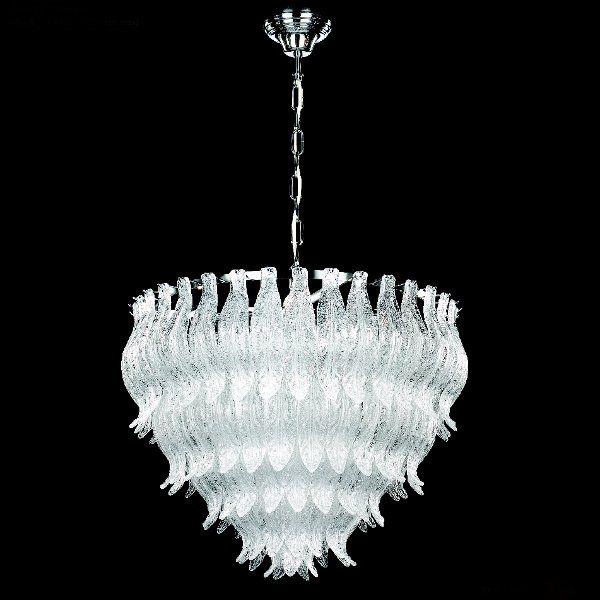 The Petali 8002/50 pendant light chrome