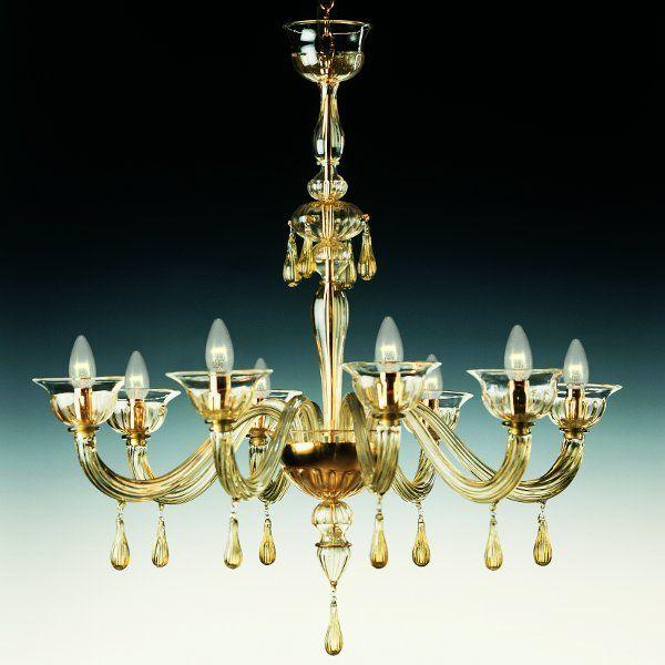 The De Majo 7084 K8 chandelier
