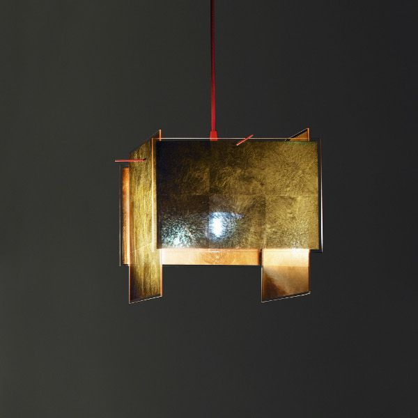 24 Karat Blau Pendant light