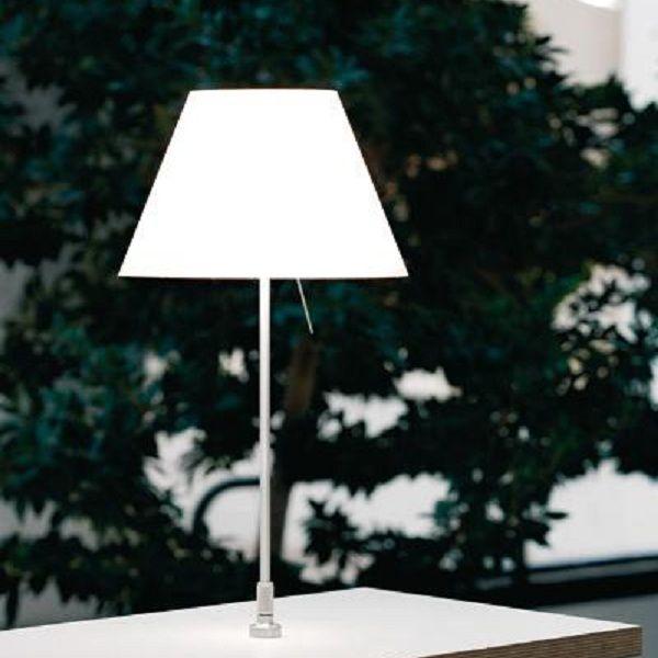 Costanzina D13 pi.pt.  table light,  white