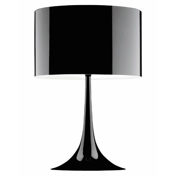 Spun Light table lamp in black