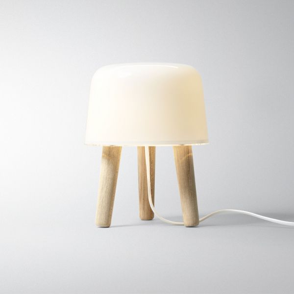 Milk NA 1 table lamp white cable