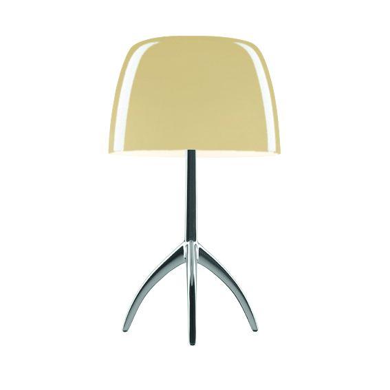 Lumiere Piccola Table lamp, warm white, alluminium
