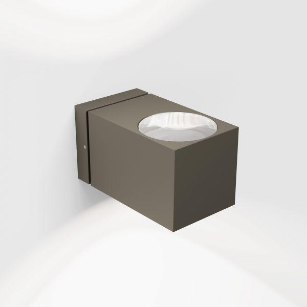 Como Wall light, brown