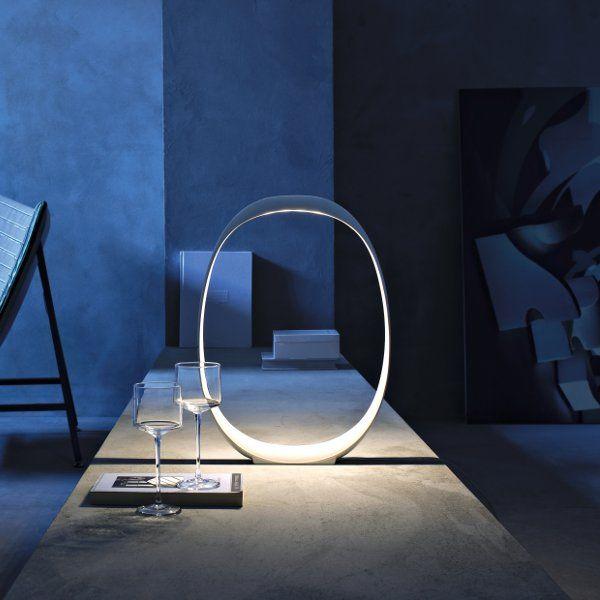 Anisha table lamp white