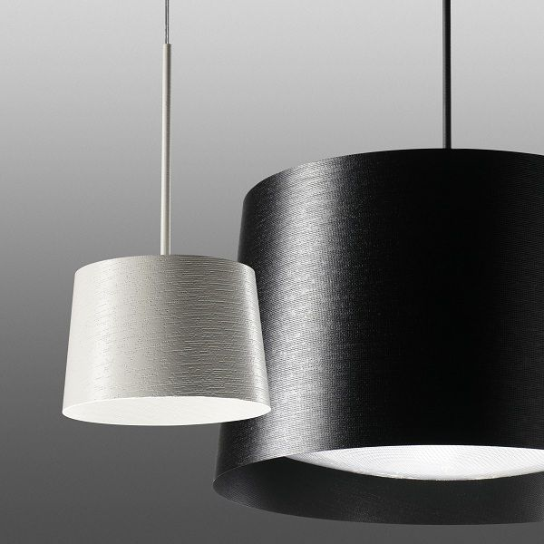 Twiggy piccola/grande Pendant light, black, white