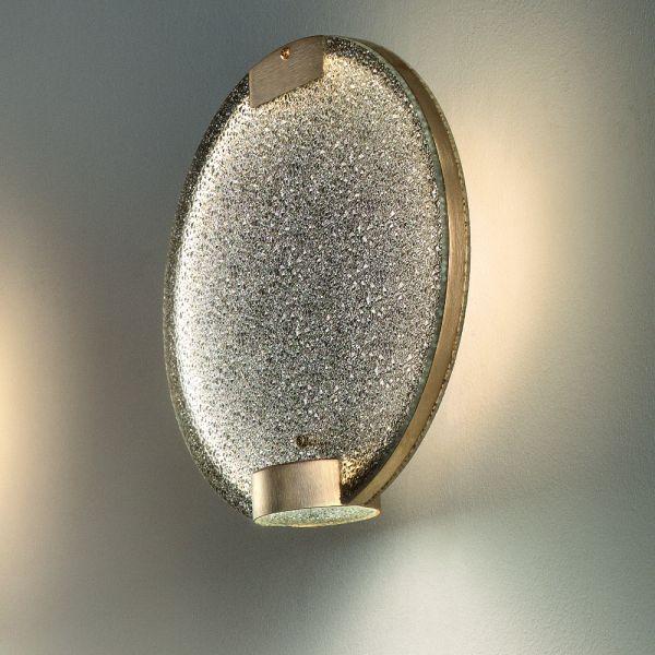 Horo A Wall lamp, smoky