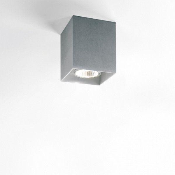 Boxy Ceiling Light ALU