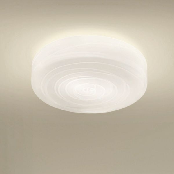 Follia PL 42 Ceiling fixture, white with crystal threads