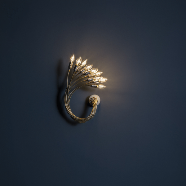 Turciu' 9 wall light