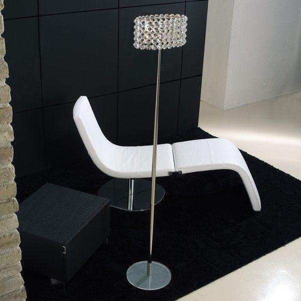 Baccarat T floor lamp