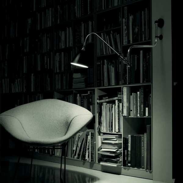 BL10 Wall lamp in an accomodation example