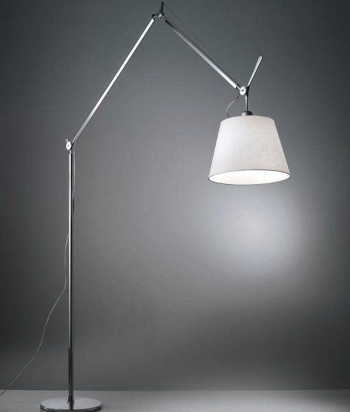 The Tolomeo Mega LED terra floor light