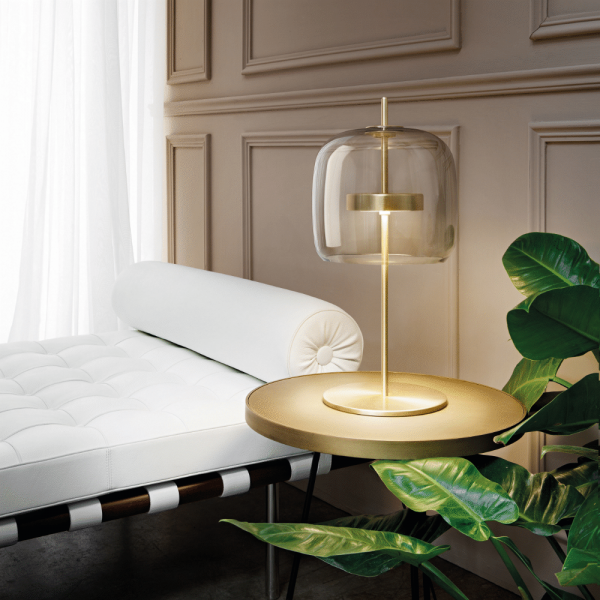 Jube LT S/P Table lamp (medium, gold, transparent)