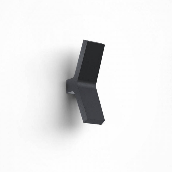 Yo Outdoor Wall Sconce Anthracit
