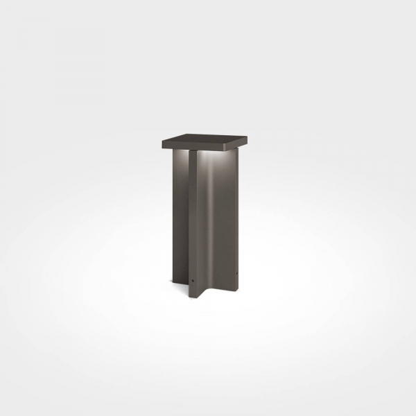 Mir X 30 Outdoor Bollard Light brown