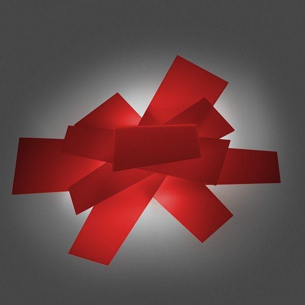 Big bang Wall sconce, red