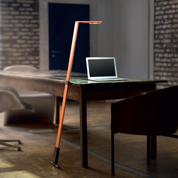 Flex mobile leaning light, orange