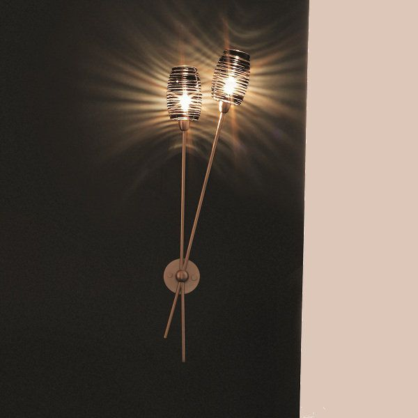 Damasco AP 2B P Wall sconce