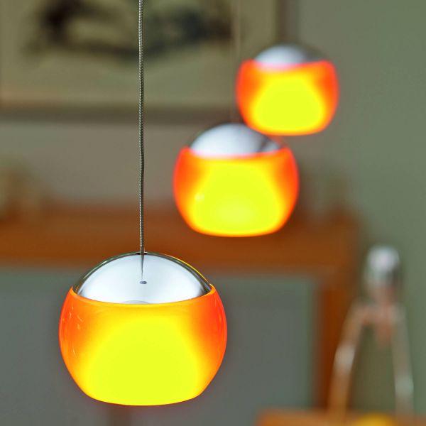 Balino Trio LED Pendant Light, detailed