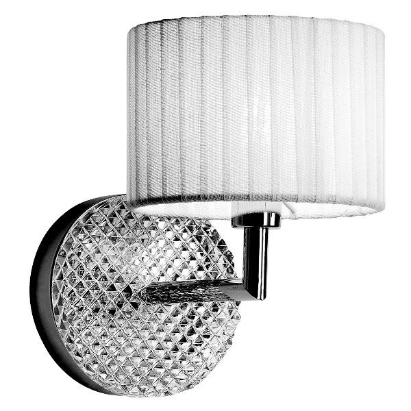 Diamond D01 Wall sconce, white