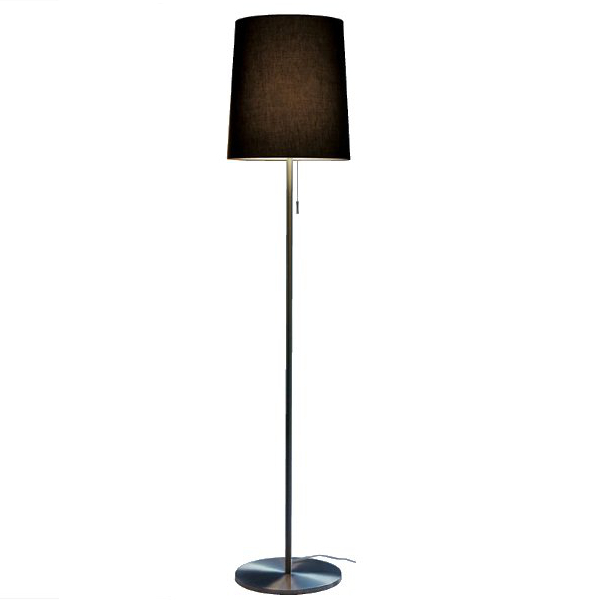 Romeo 180 cotton/polyester Floor lamp