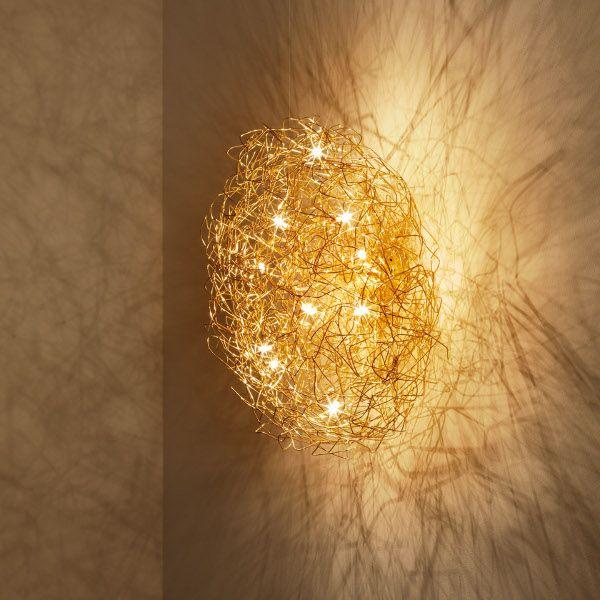 Fil de Fer Ovale Wall-/Ceiling lamp