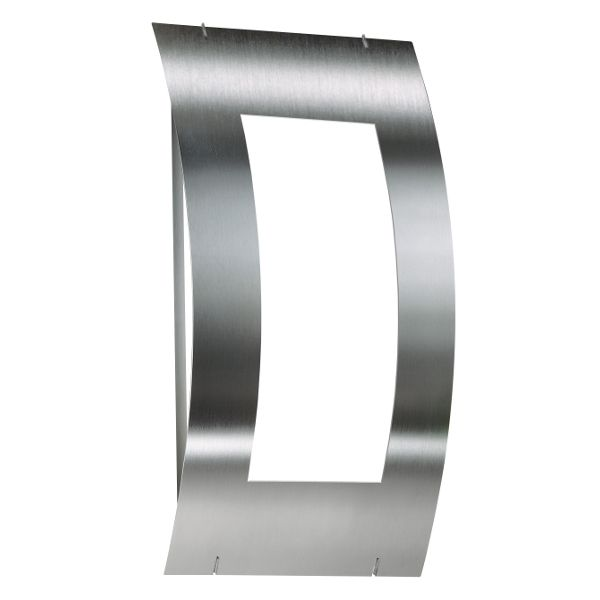 Aqua Quadrat wall sconce stainless steel