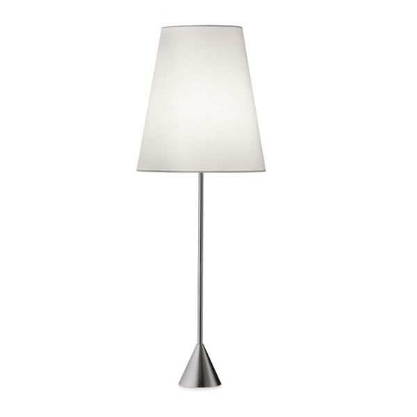 Lucilla Table lamp satin nickel