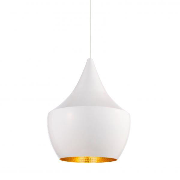 Beat Fat pendant light white