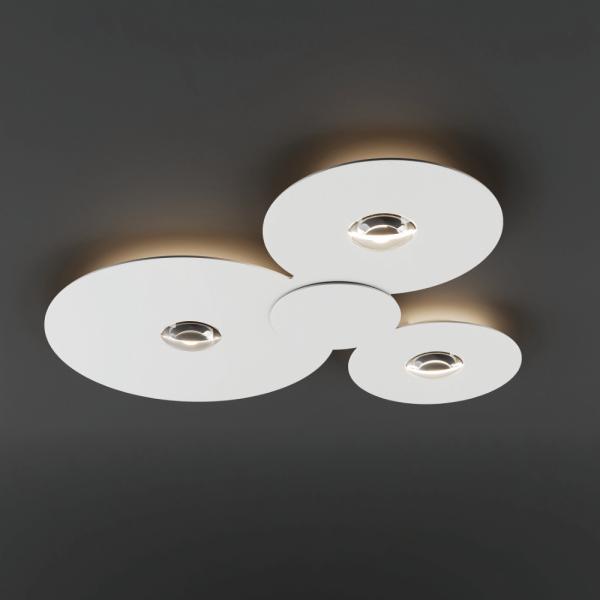 Bugia Mega ceiling light, weiß