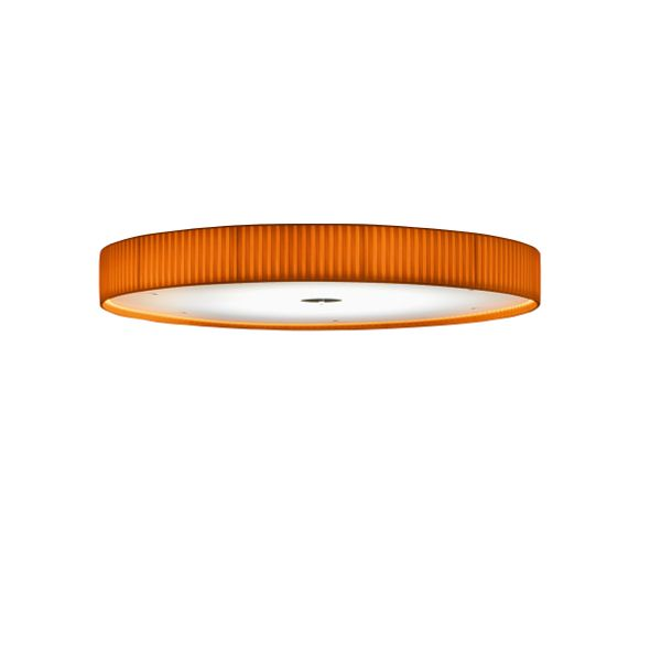 Discovolante E27 D80 Pleated Fabric Ceiling-/Wall Light