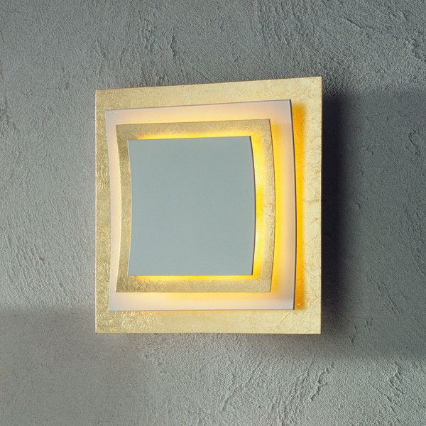 Pages wall and ceiling lamp, goldleaf