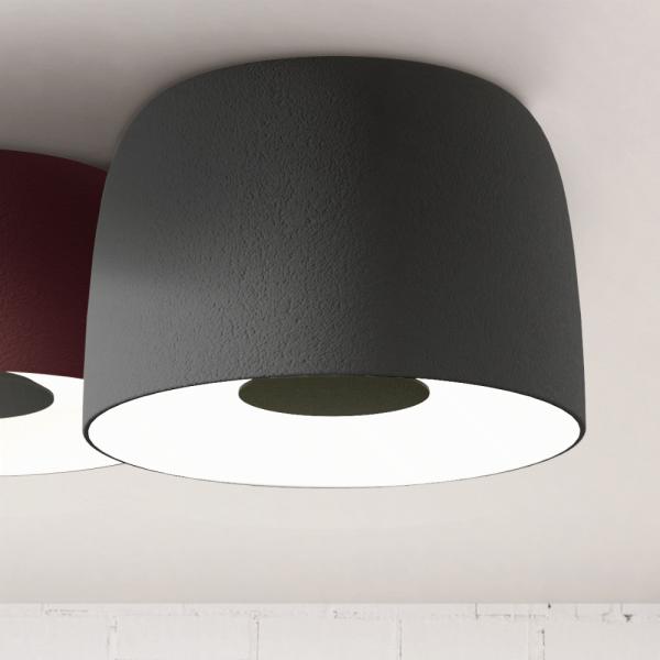 Djembe C3 65 LED Ceiling light in grey