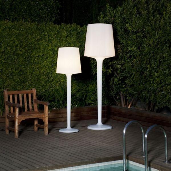 Inout Floor lamp in white