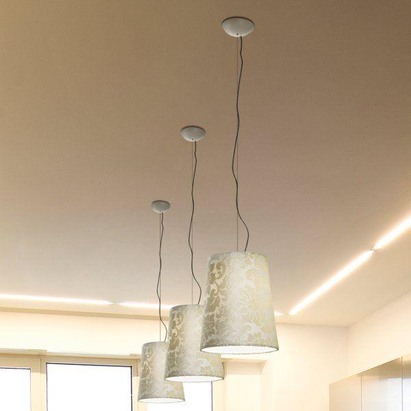 Damasco SP 32 Pendant light, white