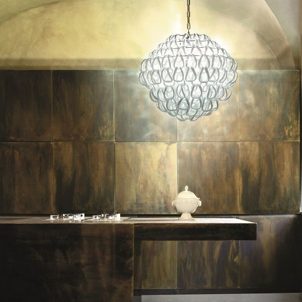 Giogali SP 60 Pendant light, white
