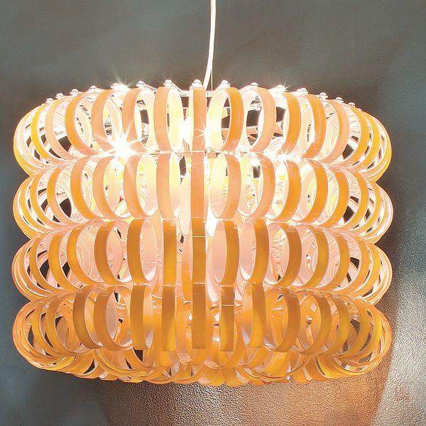 Ecos SP 60B Pendant light, orange