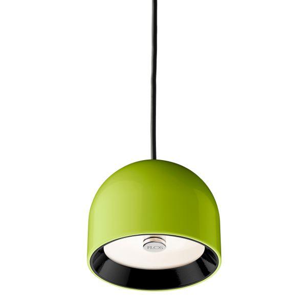 Wan S pendant light, green