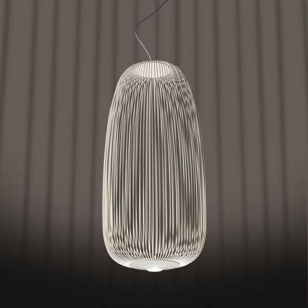 Spokes 1 Pendant light in white