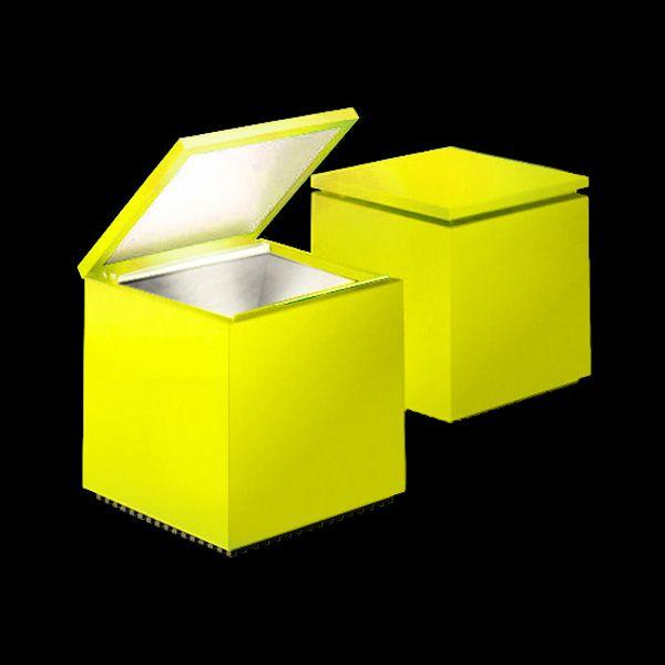 Cuboled Tischleuchte yellow