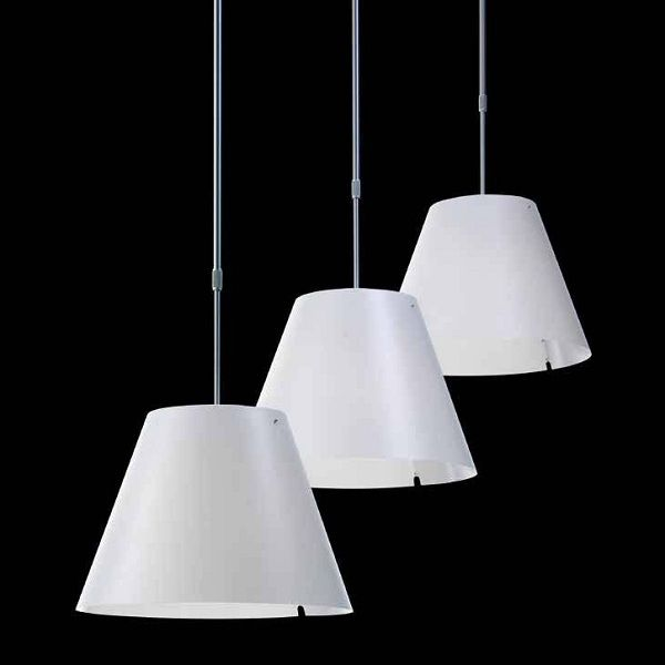 Costanza D13 s. Pendant light (3 single lights)
