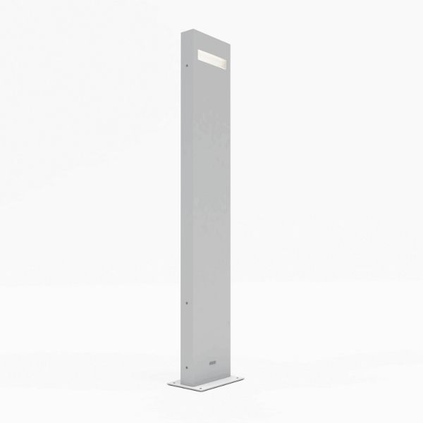 Nuda 100 Bollard light white
