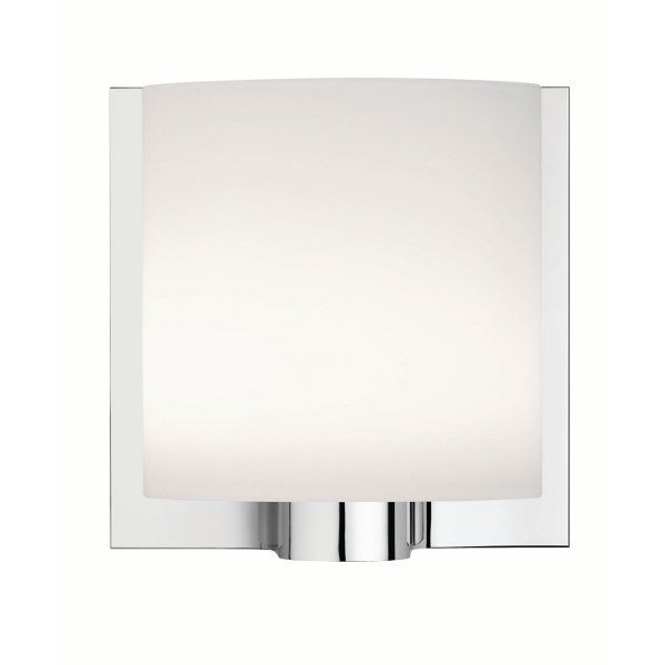 Tilee wall sconce in white