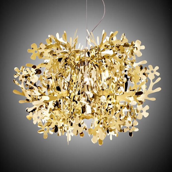 Fiorella Metallic Pendant light gold