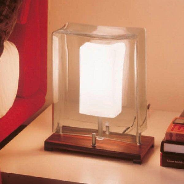 Kori table lamp small, ebony