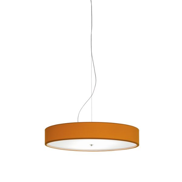 Discovolante Lycra Flamer D80 E27 pendant light in orange
