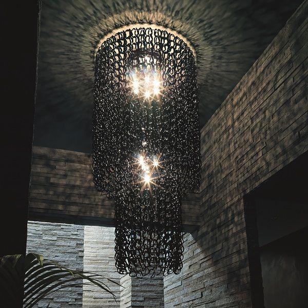 Giogali PL CA2 Ceiling fixture, black
