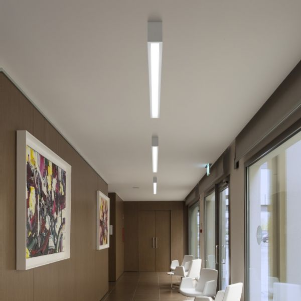 Box LED ceiling light