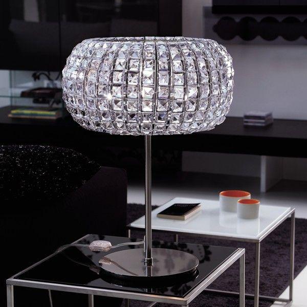 Nashira LG table lamp nickel